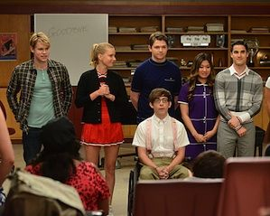 Exclusive Glee Video: Why Is Everyone Crying?!