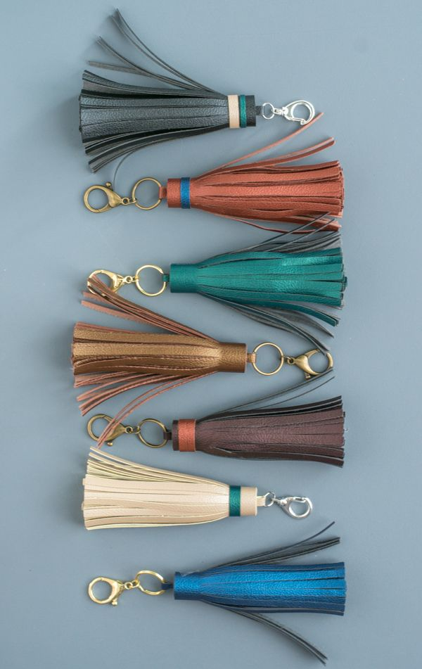 Gorgeous DIY Leather Tassels – Gift Them to Everyone You Know!