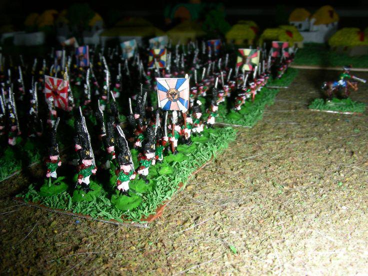 Fanteria russa Russian infantry in Napoleonic wars