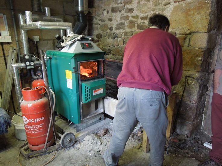 Nice and toasty with a wood log boiler - get your questions answered during CAfS Green Open Homes