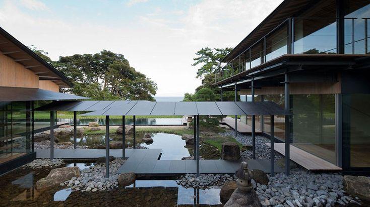 Water Cherry House by Kengo Kuma