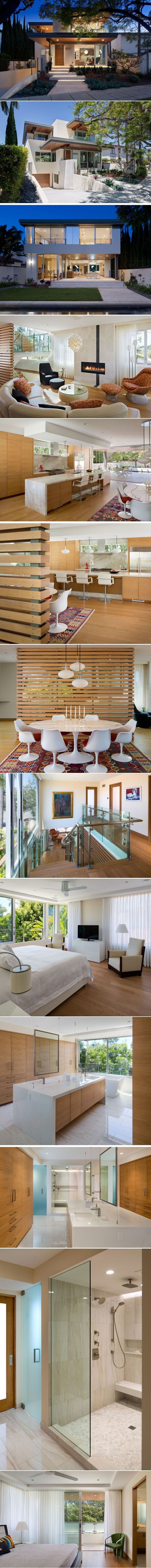 This New House In California Presents A Welcoming Face To The Street | CONTEMPORIST