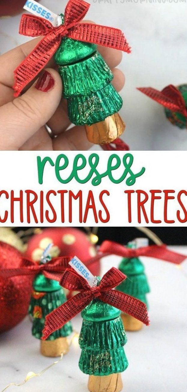 Hershey Kisses Christmas Gift Ideas