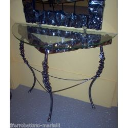 Wrought Iron Consolle Furniture. Customize Realizations. 311