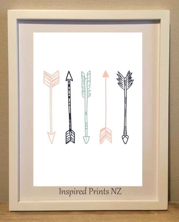 A4 Print Arrows by InspiredPrintsNZ on Etsy