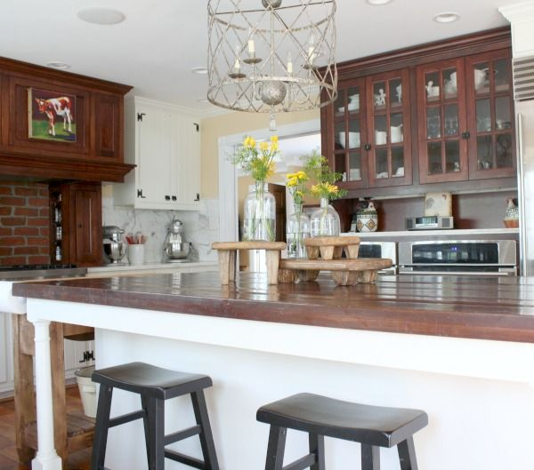 Bright Bold and Beautiful - Home Tour - Farmhouse Kitchen ideas