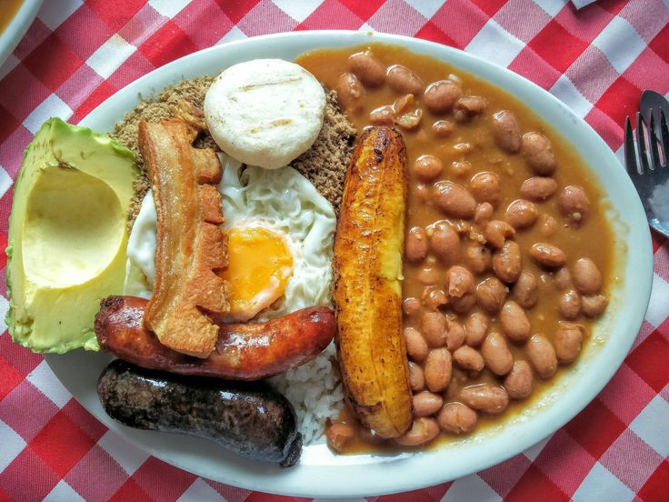 Bandeja Paisa popular meal in Colombian cuisine [OC] [2496x1872] - Click the PIN to see more!