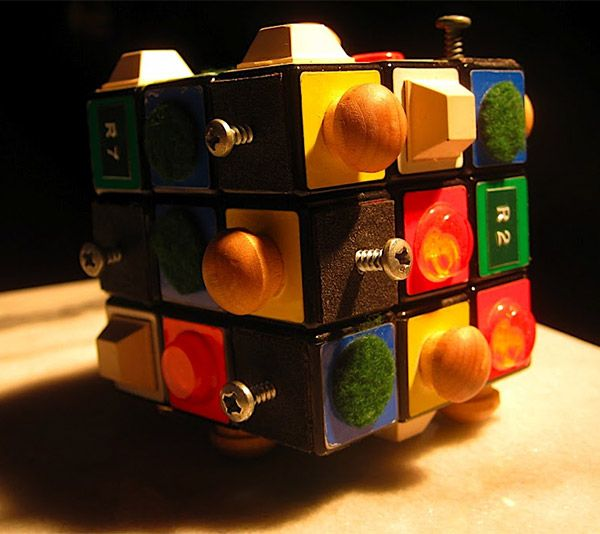 How to take a regular Rubik's Cube and make it accessible! *pinned by wonder baby.org