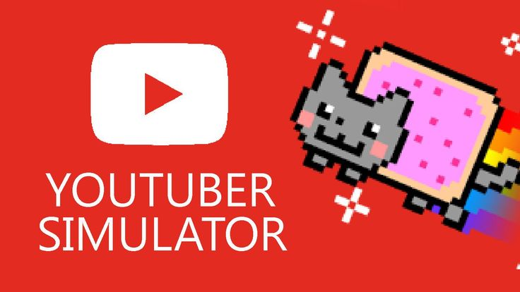 Famous YouTuber Plays a YouTube Simulator Game & Humorously Outlines His YouTube Career