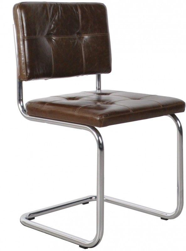 Retro Ridge stoel Leer | Ridge Rib stoelen | Design meubels, Retro verlichting & cadeaushop, Space Age new vintage