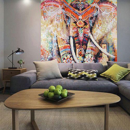 Indian Mandala Tapestry Hippie Muur Opknoping Bohemian Sprei Gooi Dorm Decor in specificaties:verfijnde olifant/bloem/leven boom/sneeuwvlok patroon print tapestry.voeg een bohemian voelen om uw kamer  van   op AliExpress.com | Alibaba Groep