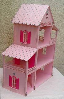 Ateliê Patchly Casinha de bonecas
