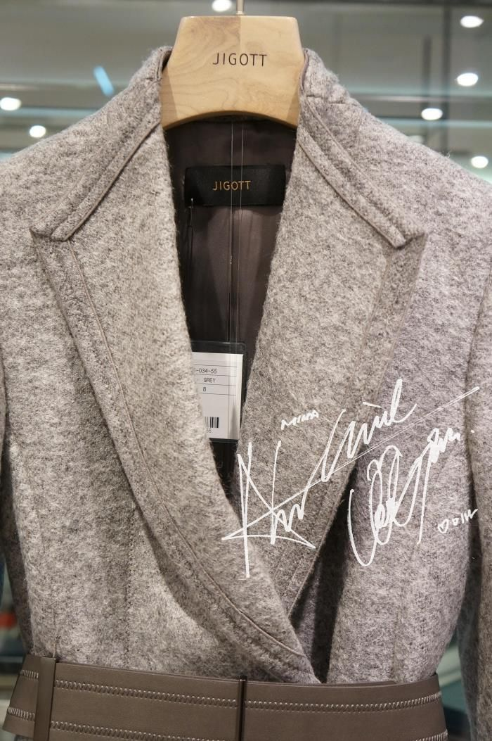 JIGOTT韩国专柜正品代购2015年冬款百搭外套JJFJ-00-0213-淘宝网