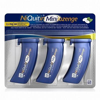 Niquitin mini  Indicatie: Hulpmiddel bij het stoppen met roken.Contraindicatie: Niet roker of jonger  EUR 25.91  Meer informatie