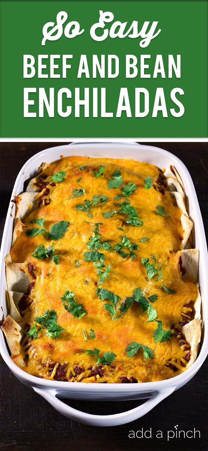 official tiffany website This easy beef and bean enchilada comes together quickly for a delicious recipe perfect for a weeknight supper   addapinch com