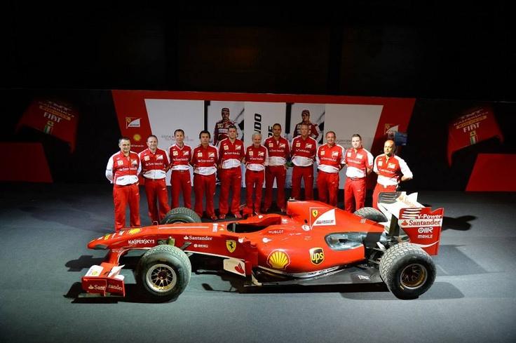 SuisseGas, sponsor della Ferrari F458 che partecipa al Ferrari Challenge Trofeo Pirelli 2013, ringrazia i piloti Antonio Fuoco, Daniel Mancinelli e Giancarlo Fisichella, la Scuderia Ferrari e il team di Kaspersky Lab. — presso Gerusalemme.