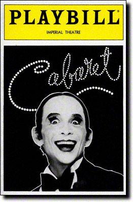 cabaret playbill - Google Search