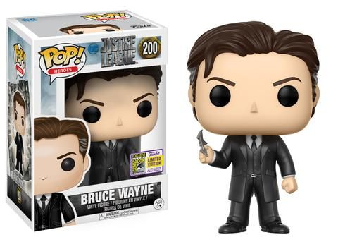 SDCC 2017 Exclusives Wave 5: DC! | Funko - Pop! Movies: Justice League – Bruce Wayne #SDCC2017 Exclusive