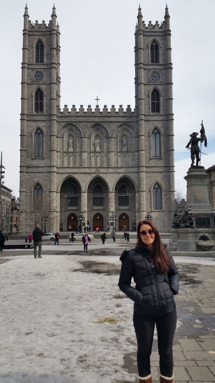 """Church in Montreal"" by TravelPod blogger joemurphy from the entry ""Quebec City to Montreal"" on Tuesday, April  7, 2015 in Montreal, Canada"