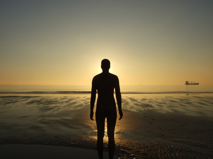 Antony Gormley's Another Place, Crosby Beach