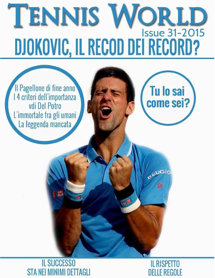Tennis World Italia n. 31  Numero 31-2015