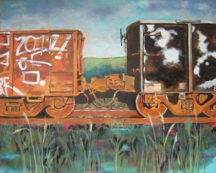 Yvonne Westerveld Cardoso  'Trains'
