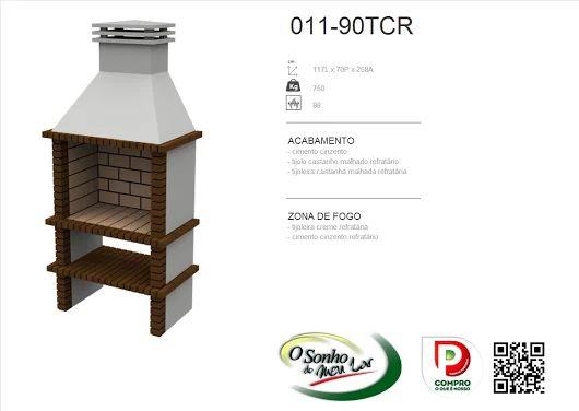 Churrasqueira Modelo  011-90TCR