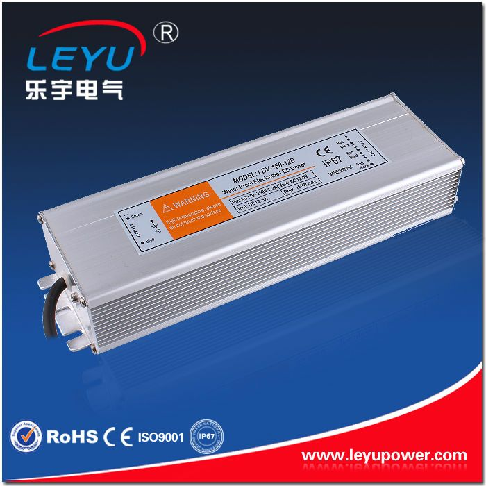 Constant voltage LED driver 150W 12V Waterproof Switching Power Supply LDV-150-12
