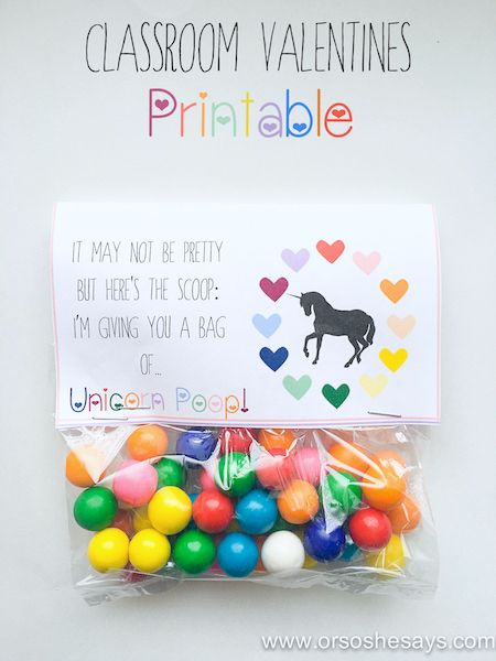unicorn valentines Printable | And finally, I might be a little biased, but this M&Ms printable is a ...