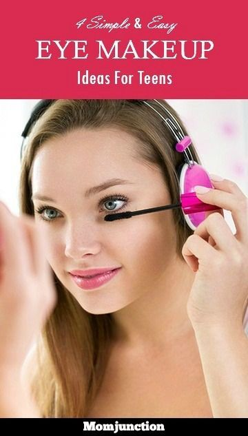 Eye Makeup Ideas For Teens: If you or your teen feel confused about some age-appropriate eye makeup, read on to check out our picks.Here are some simple eye #makeup ideas that will be perfect for your teen