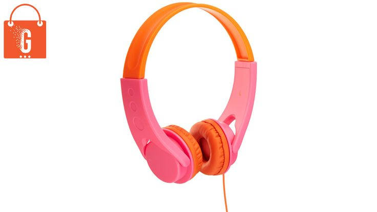 Features Comfortable on-ear headphones for kids 3 and older, Adjustable to ensure a perfect fit, lightweight, colorful design, Volume-limiting system (85db max for safe listening), Universal plug for compatibility with laptops, tablets, smartphones,