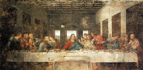 Leonardo da Vinci - The Last Supper - Must be a supper before and after the mere living exit.