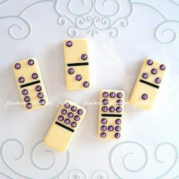 Domino, magnesy na lodówkę