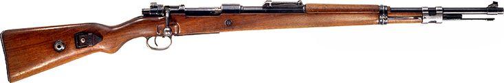El Mauser Kar 98k o Karabiner 98 Kurz (con frecuencia abreviado Kar 98k, K98 o K98k, es un fusil de cerrojo que emplea el cartucho 7,92 x 57 y fue adoptado como fusil estándar de infantería en 1935 por la Wehrmacht.2 Fue uno de los desarrollos finales de la larga línea de fusiles militares Mauser. Aunque complementado con fusiles semiautomáticos y automáticos durante la Segunda Guerra Mundial, continuó siendo el principal fusil alemán estándar hasta el final de la guerra en 1945.