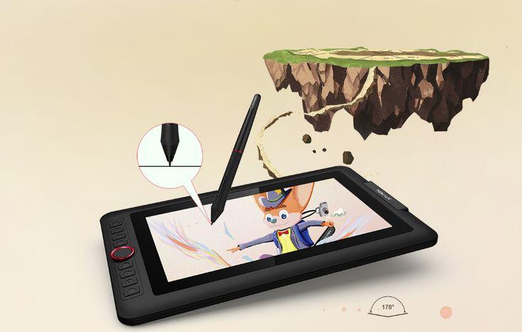 Artist display 12 pro digital art software drawing