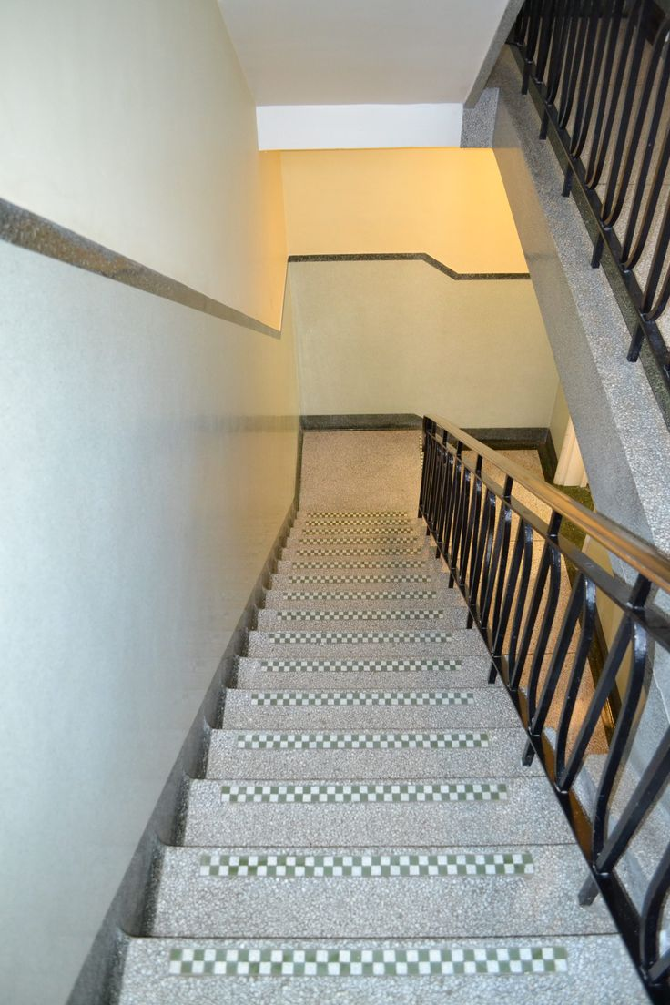 Terrazzo Cleaning Polishing Sealing Services to Communal Office Stairs and Landings Eastbourne East Sussex