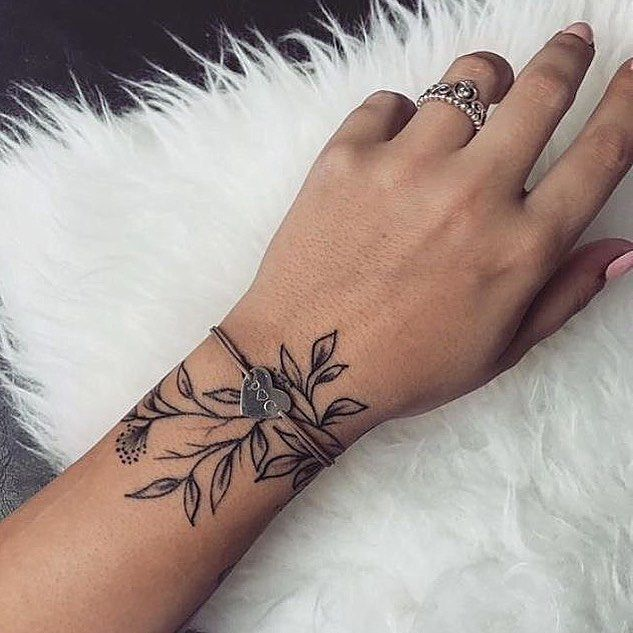 That S Really Simple And Nice Bodyarttattoos Nice Simple In 2020 Unique Wrist Tattoos Simple Wrist Tattoos Meaningful Wrist Tattoos