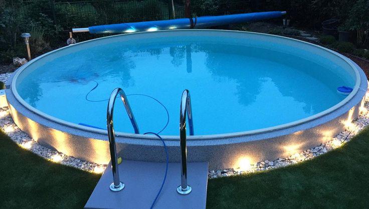 13 best Pool Garten images on Pinterest Swiming pool, Swimming - reihenhausgarten und pool