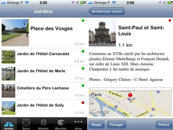 Paris on foot by Henri Aguesse l #cityguide