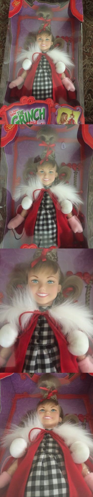 Dr Seuss 20906: Dr. Seuss How The Grinch Stole Christmas Cindy Lou Who Doll -> BUY IT NOW ONLY: $42.99 on eBay!
