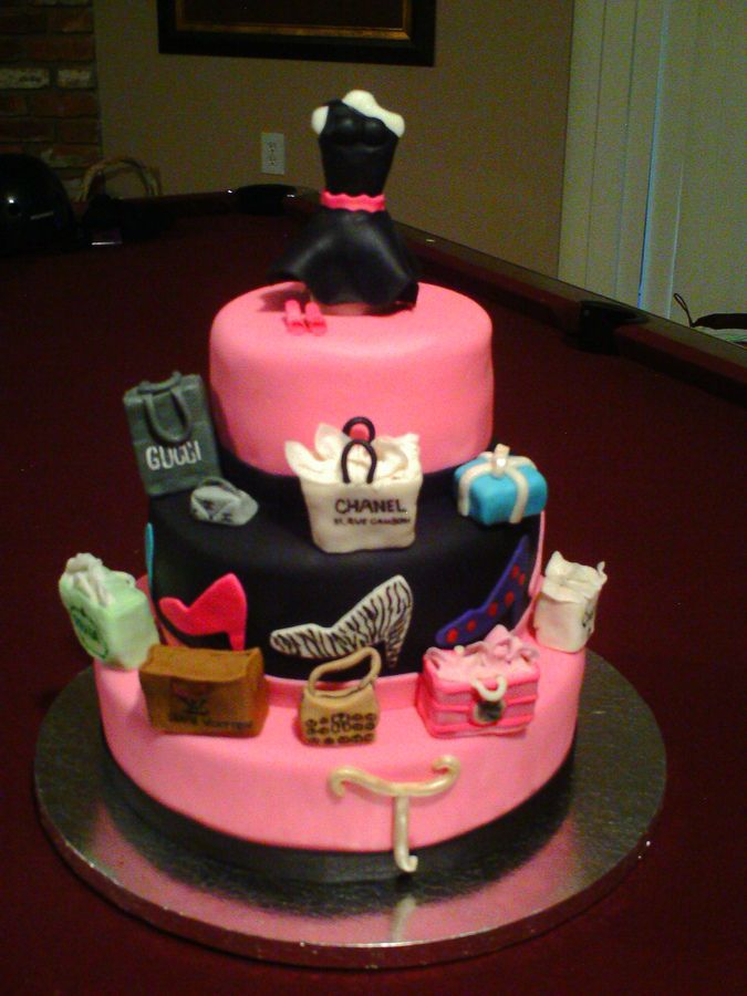 Online shopping birthday cake