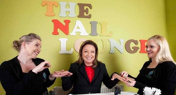 Presenter Norah Casey and the staff at Lanu Medi Spa