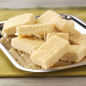 Shortbread Squares Recipe~ This is the one and only shortbread recipe I've used for years.  Perfection!