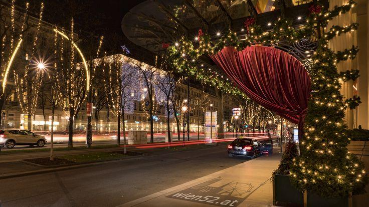Weihnachtsbeleuchtung @Wiener Ringstraße - 2016 Woche 51