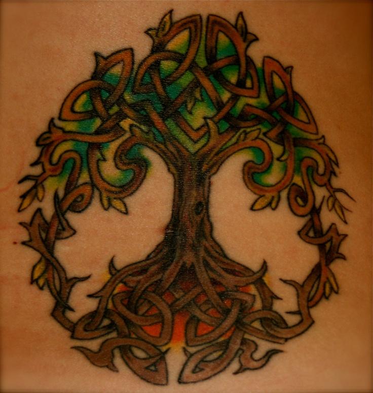 Celtic Tree of Life Tattoo | Celtic tree tattoos, Life tattoos, Tattoos