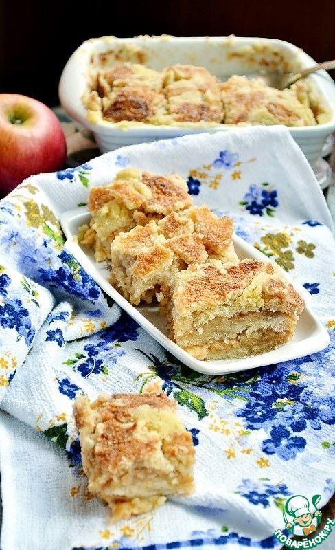 Постный яблочный пирог ингредиенты