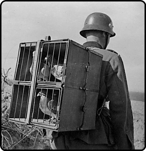 Communications before computers - World War I: