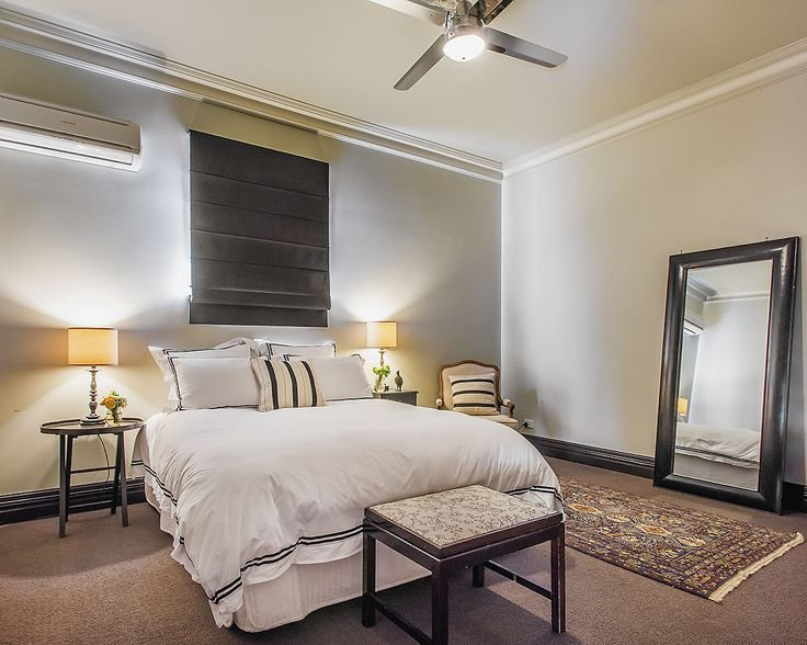 Our bedrooms at Euroa Butter Factory