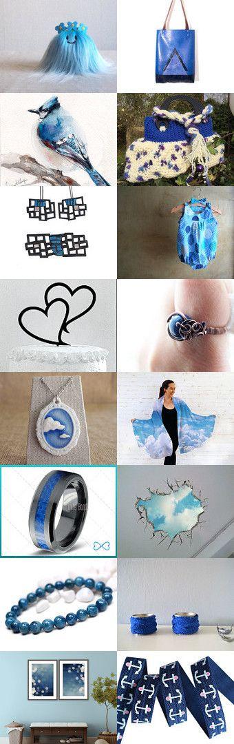 Ceruleo by Greta Guizzardi on Etsy--Pinned with TreasuryPin.com #shopping #handmade #etsy#heaven #skay #blue