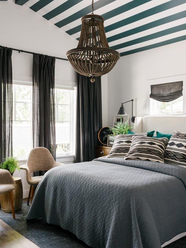 Жажда цвета: необычные потолки для яркого интерьера
